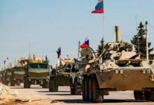 صورة قوات روسيّة تنسحب من الحدود السورية العراقية