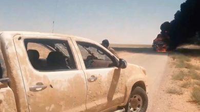 صورة ثلاث هجمات تستهدف الميليشيات الإيرانية في بادية ديرالزور