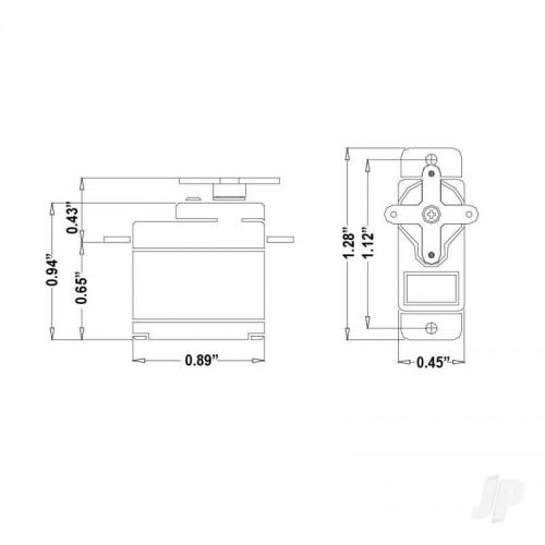 Hitec HS 5055MG Digital Feather Servo (2216520)