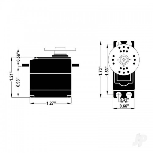 Hitec HS 5245MG Digital Mighty Mini Servo (2216570)