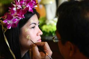 Face painting | Enchanted forest themed kiddie party