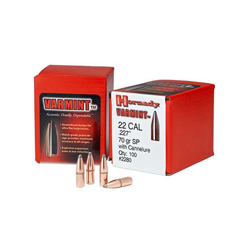 Nosler Varmageddon Bullets 224 FBHP 55gr Projectiles 17235 – Al
