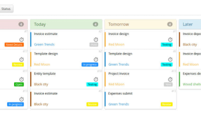 Create interactive task planner app with Bubble.io