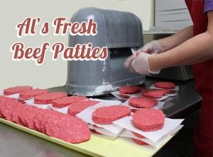 Al's Meat Market Fresh Beef Patties