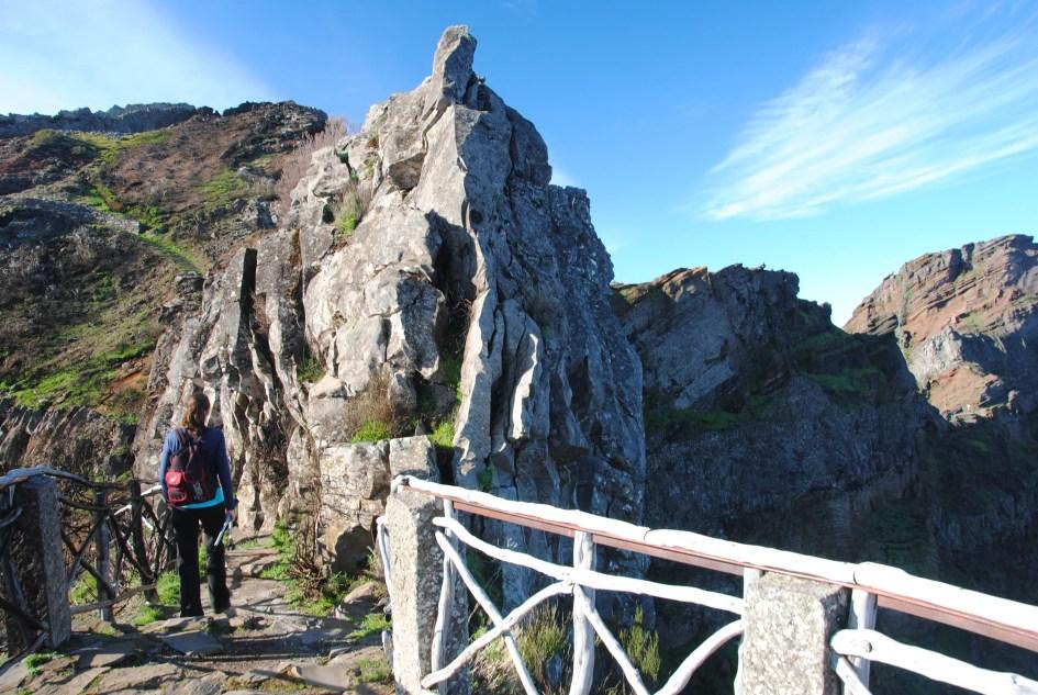Panorama am Gipfel des Pico Arieiro
