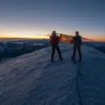Mein Weg auf den Mont Blanc – Sonnenaufgang am höchsten Punkt der Alpen