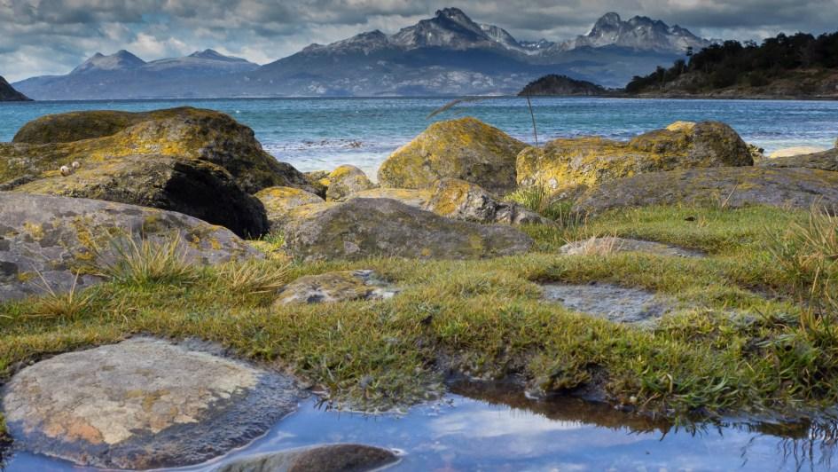 Beagle Kanal im Tierra del Fuego Nationalpark, Feuerland