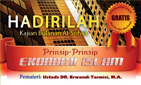 Kajian Bulanan: Prinsip-prinsip Ekonomi Islam