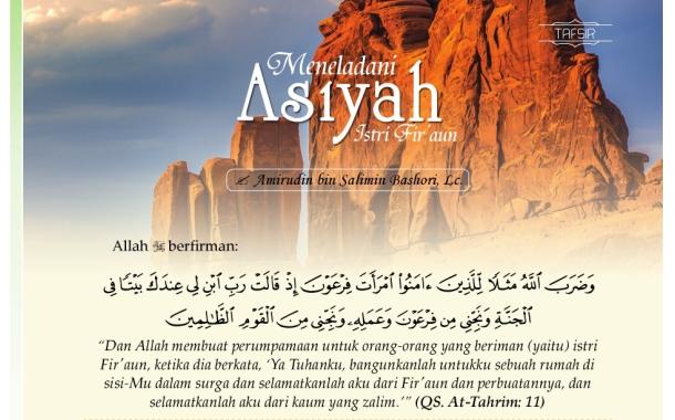 Meneladani Asiyah Istri Fir'aun