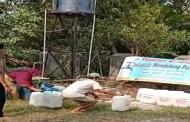 Warga Senang, Sumur Sedalam 66 Meter Telah Dibuat Al-Sofwa di Tenjo Kabupaten Bogor