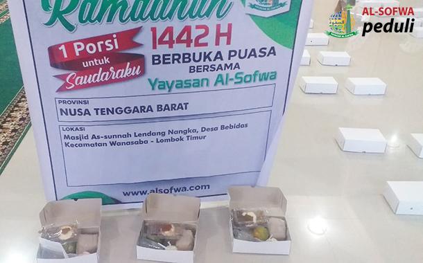 Satu Porsi Untuk Saudaraku Di Lendang Nangka Lombok Timur