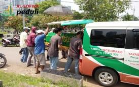 Antar Jenazah Warga Jl. Swadaya 1 Menuju TPU Menteng Pulo