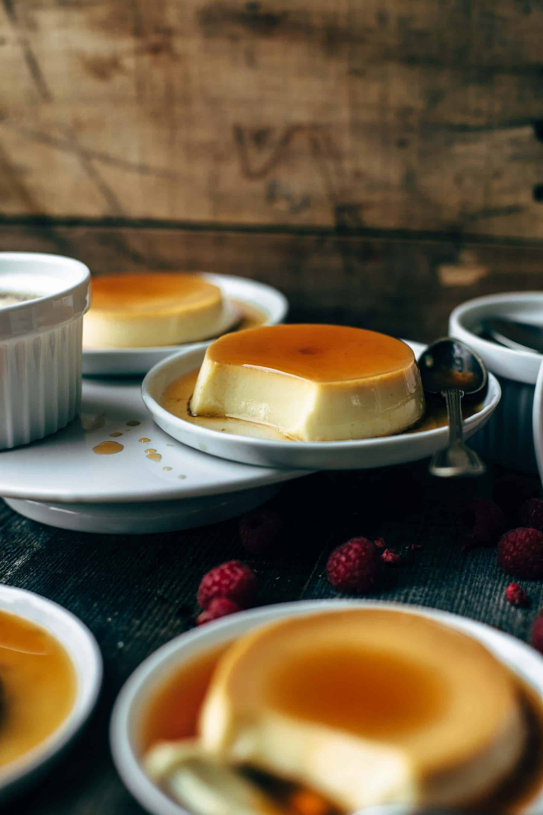 Flan From Scratch : scratch, Original, Spanish, Recipe, Crumbs, Please
