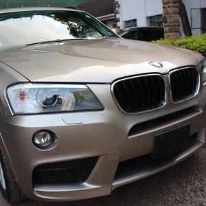 BMW X3 XDrive X20i M Sport 2013 95,000 Kms