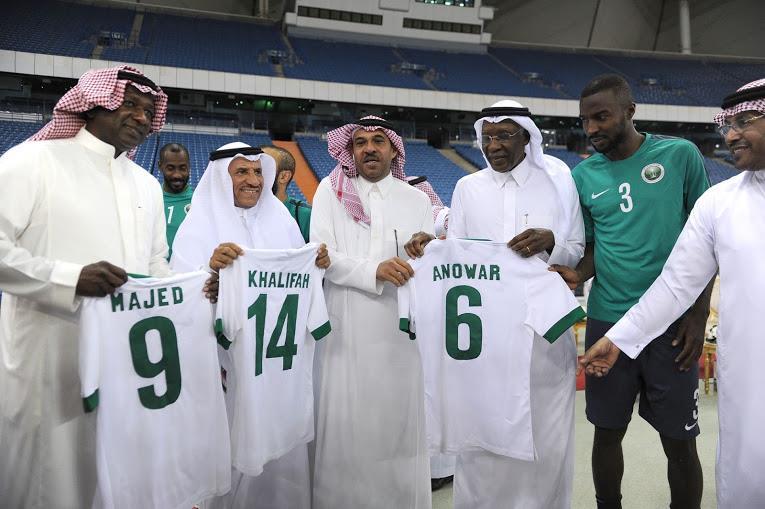 انطلاق تمارين المنتخب الأول في استاد الملك فهد الدولي