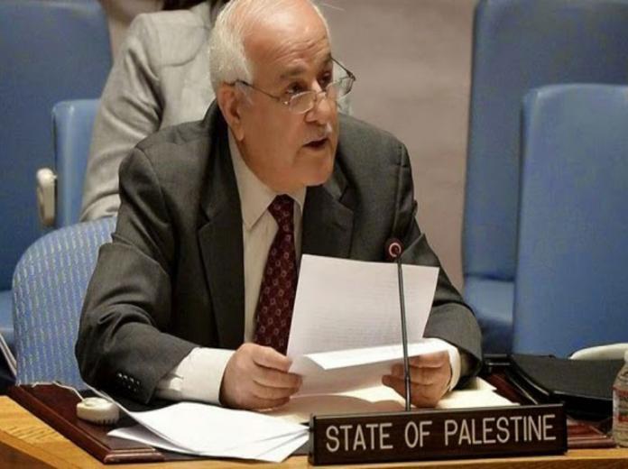 فلسطين تدعو المجتمع الدولي لإرغام إسرائيل على وقف الاستيطان