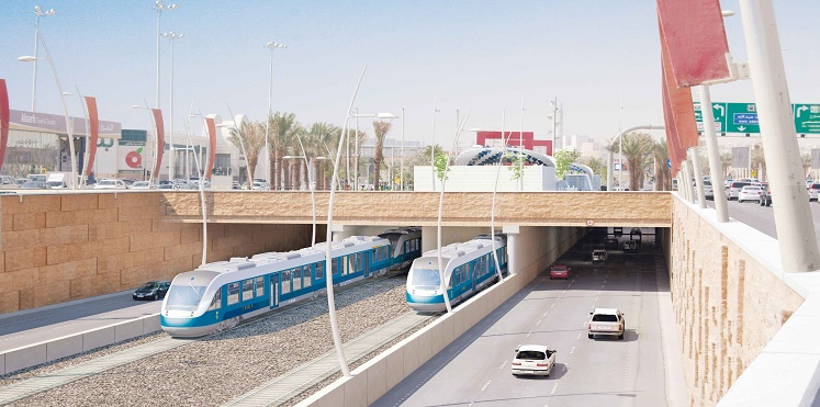 """كاميرات مُراقبة عالية الجودة داخل """"مترو"""" الرياض الجديد"""