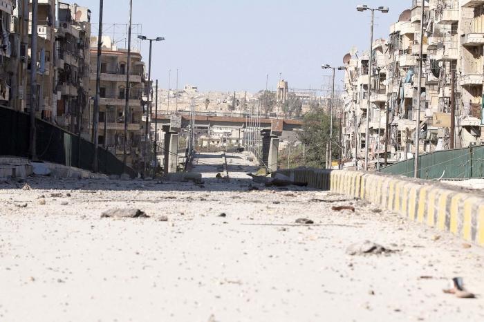 تسجيل :أول غارة على حلب منذ الهدنة وتحذير روسي من التصعيد