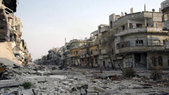 قصف بالطائرات ودمار في سورياوالخارجية الأمريكية تغضب فقط
