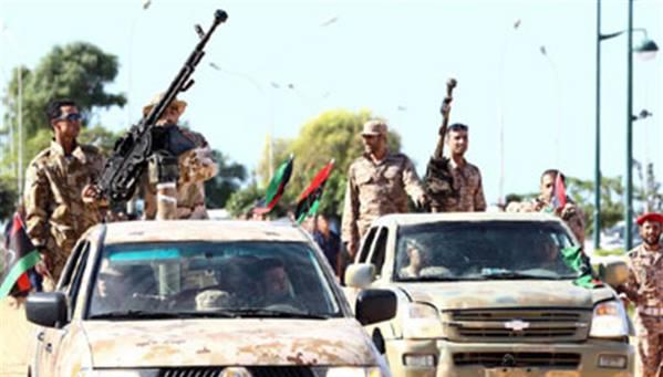 اشتباكات في منطقة الهلال النفطي الليبي