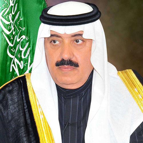 متعب بن عبدالله يعزّي أسرة الشهيد نايف البرقاني