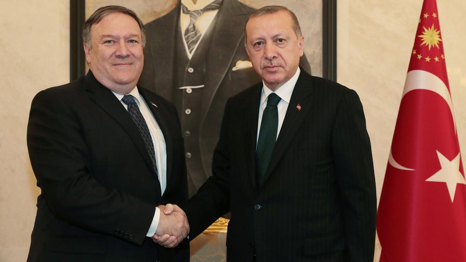 وزير الخارجية الأمريكي:أردوغان أشاد بتعاون السعودية في التحقيق في قضية خاشقجي