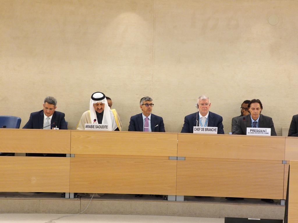 مجلس حقوق الإنسان يعتمد بالإجماع تقرير المملكة للاستعراض الدوري الشامل