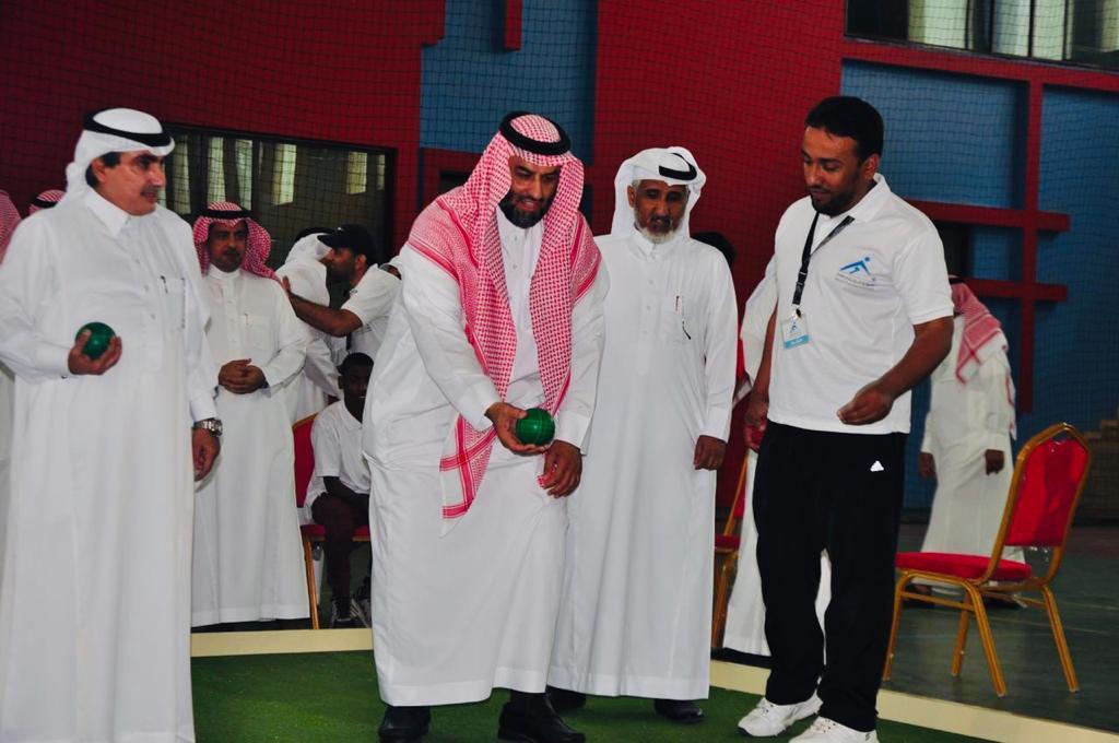 """""""الغنام"""" يرعى اختتام بطولة البوتشي على مستوى مدارس الرياض بمكتب التعليم بالروابي"""