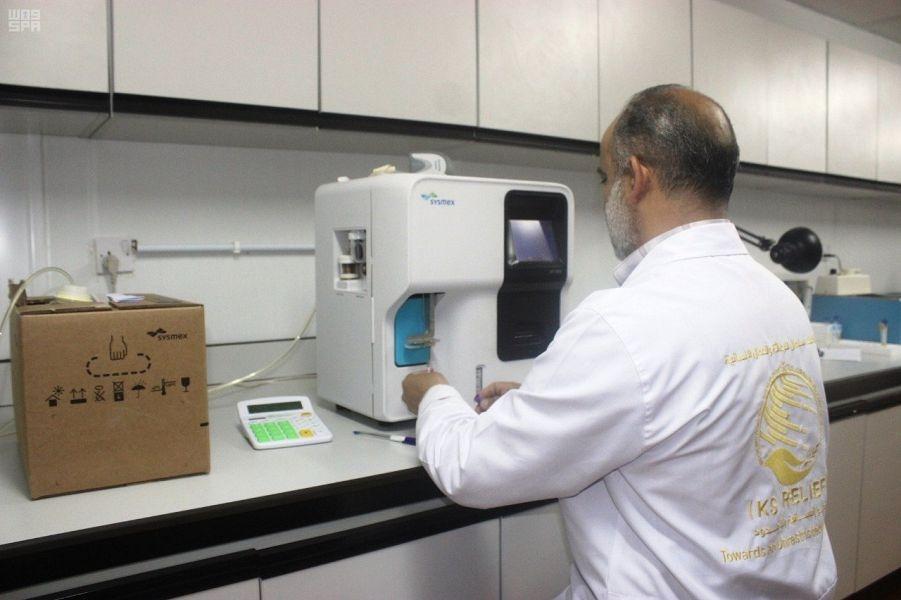 العيادات الطبية في مركز الملك سلمان للإغاثة تواصل تقديم خدماتها في مخيم الزعتري