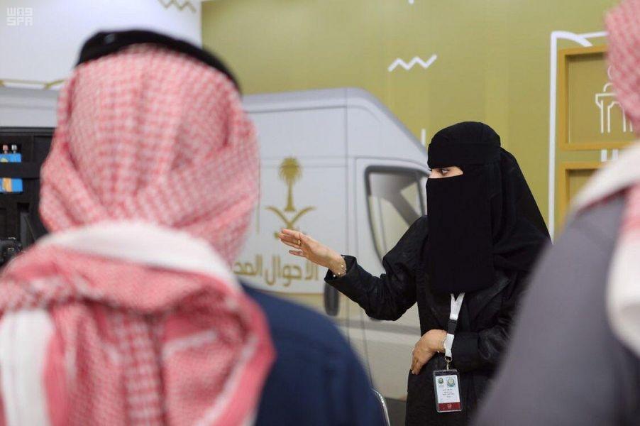 حضور بارز للمرأة في اجنحة وزارة الداخلية في مهرجان الجنادرية