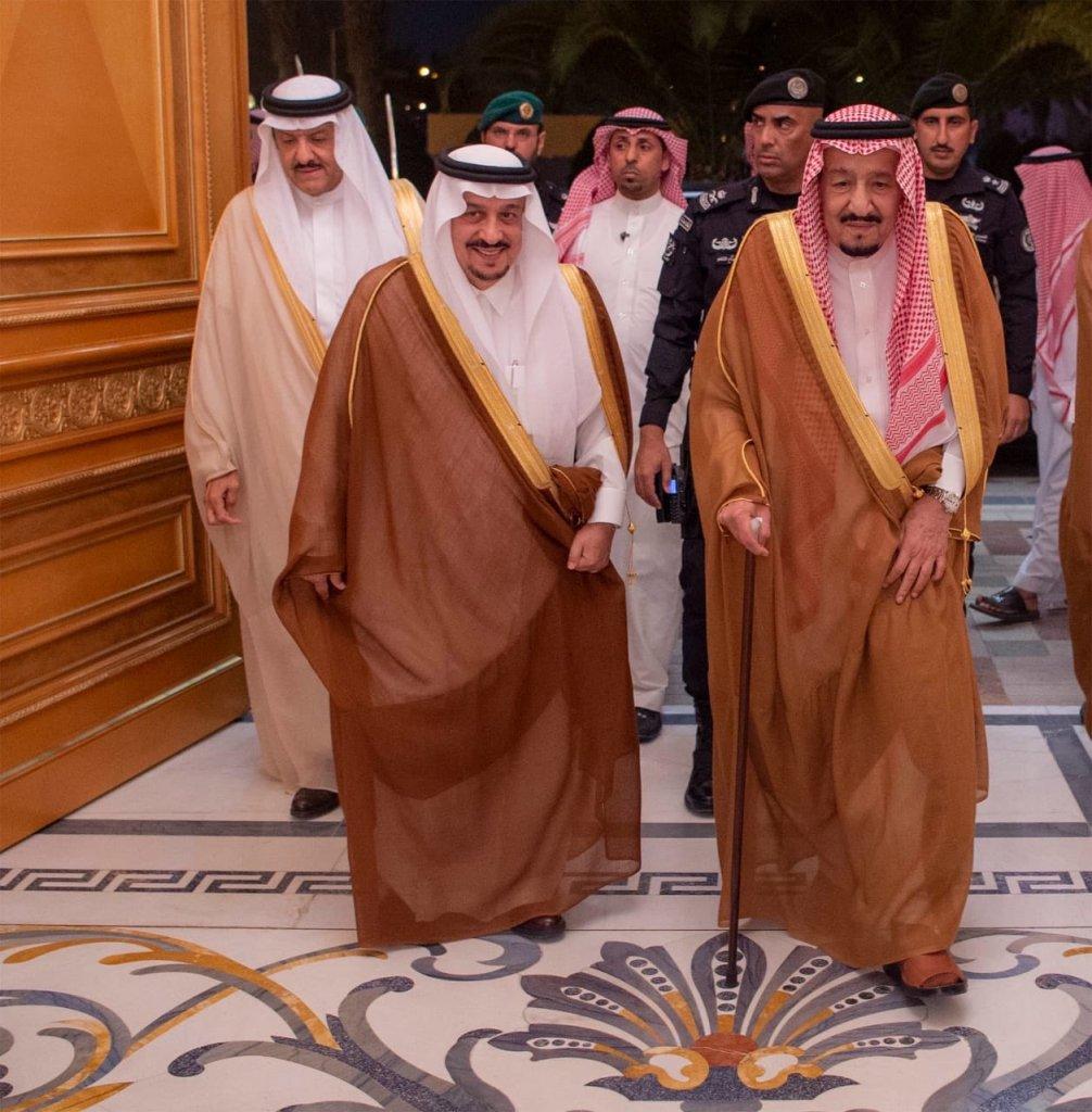 خادم الحرمين الشريفين يغادر الرياض متوجها إلى جدة