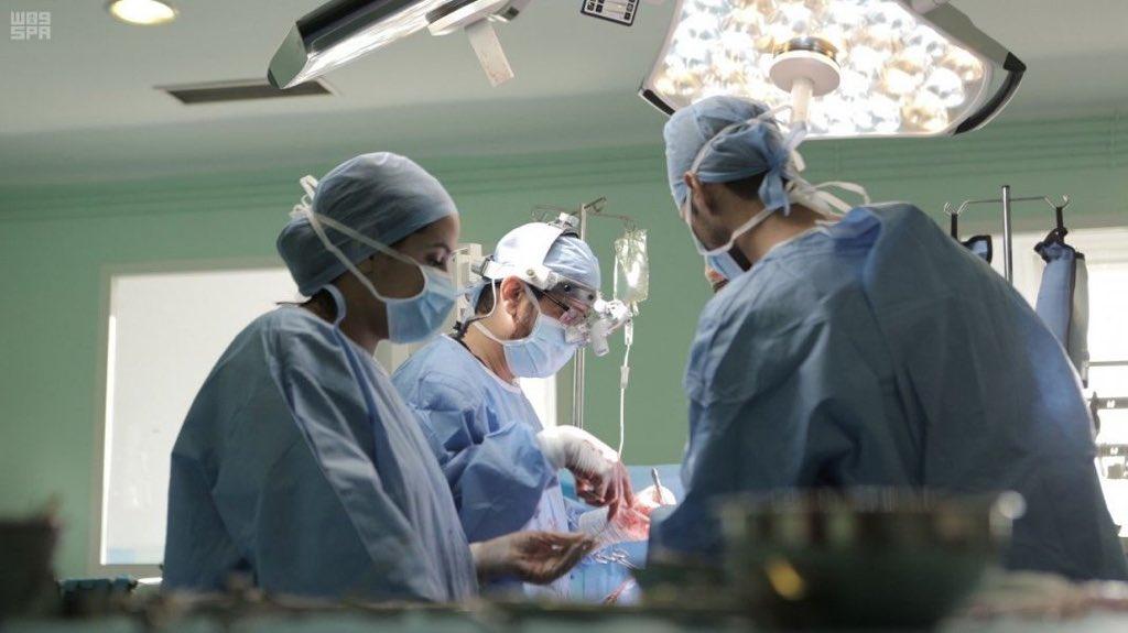 الفريق الطبي التطوعي لمركز الملك سلمان للاغاثة يجري ٥٥ عملية قلب مفتوح وقسطرة في المغرب