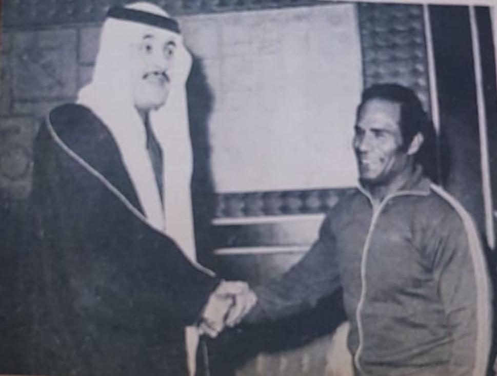 البوصي في لمسة وفاء: المصري غنيم مؤسس رياضة الجمباز في المملكة