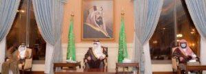 الأمير فهد بن سلطان يلتقي المواطنين ويتناول الموضوعات التي تهم منطقة تبوك