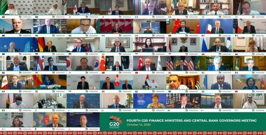 وزراء مالية العشرين يصدرون بيانا للتدابير الدولية لتحقيق تعافي الاقتصاد العالمي