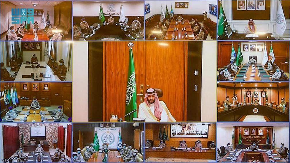 ولي العهد يهنئ منسوبي وزارة الدفاع في عيد الفطر المبارك