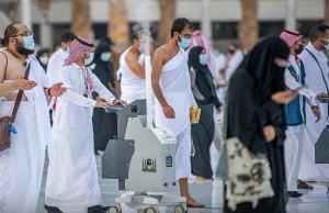 ٧٥٠ موظفاً لتنفيذ عمليات التعقيم بالمسجد الحرام
