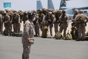 """انطلاق مناورات التمرين السعودي الأمريكي """"مخالب الصقر4"""""""