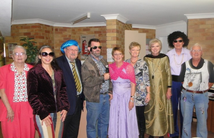 Niven Family Group Murder Mystery Night 2011