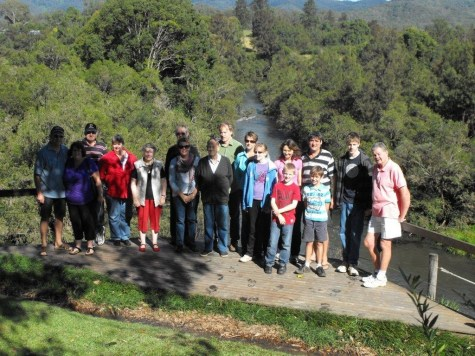 In 2012 the Pagotto Family Group enjoyed a weekend away at Nymboida.