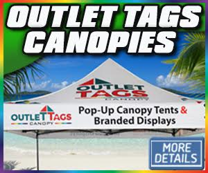 Outlettags.com,canopies,tents,toronto,ottawa,flags,banners