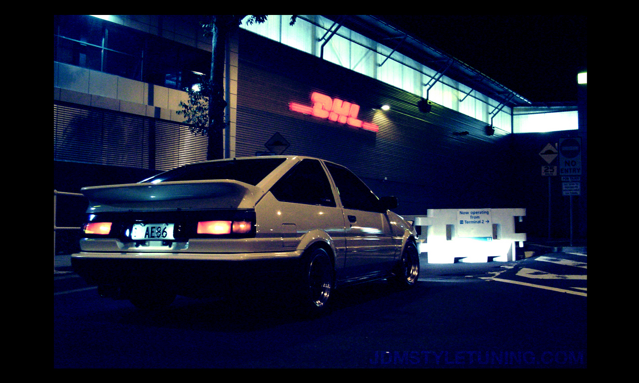 Deviantart Anime Wallpaper Console Writeline Initial D Anime Linux Style In The