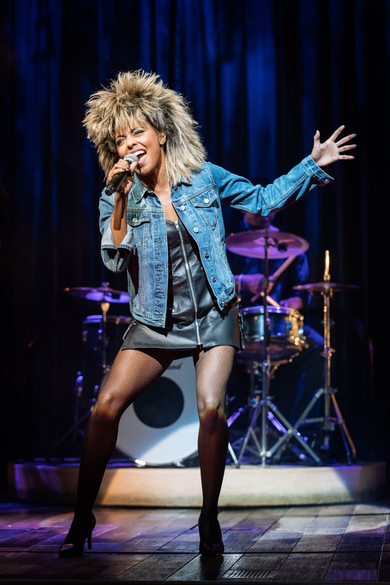 14. Adrienne Warren as Tina Turner. Photo by Manuel Harlan