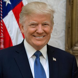 Official portrait of President Donald J. Trump