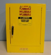Refurbished Justrite 25040 Flammable Liquid Storage Cabinet