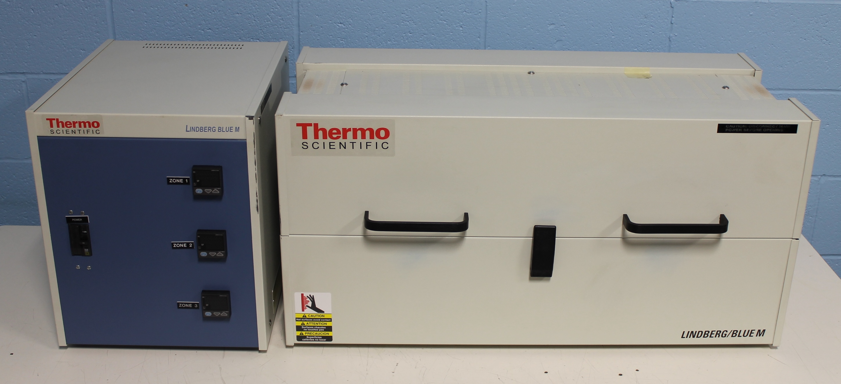 Refurbished Thermo Scientific Lindberg Blue M Split Hinge