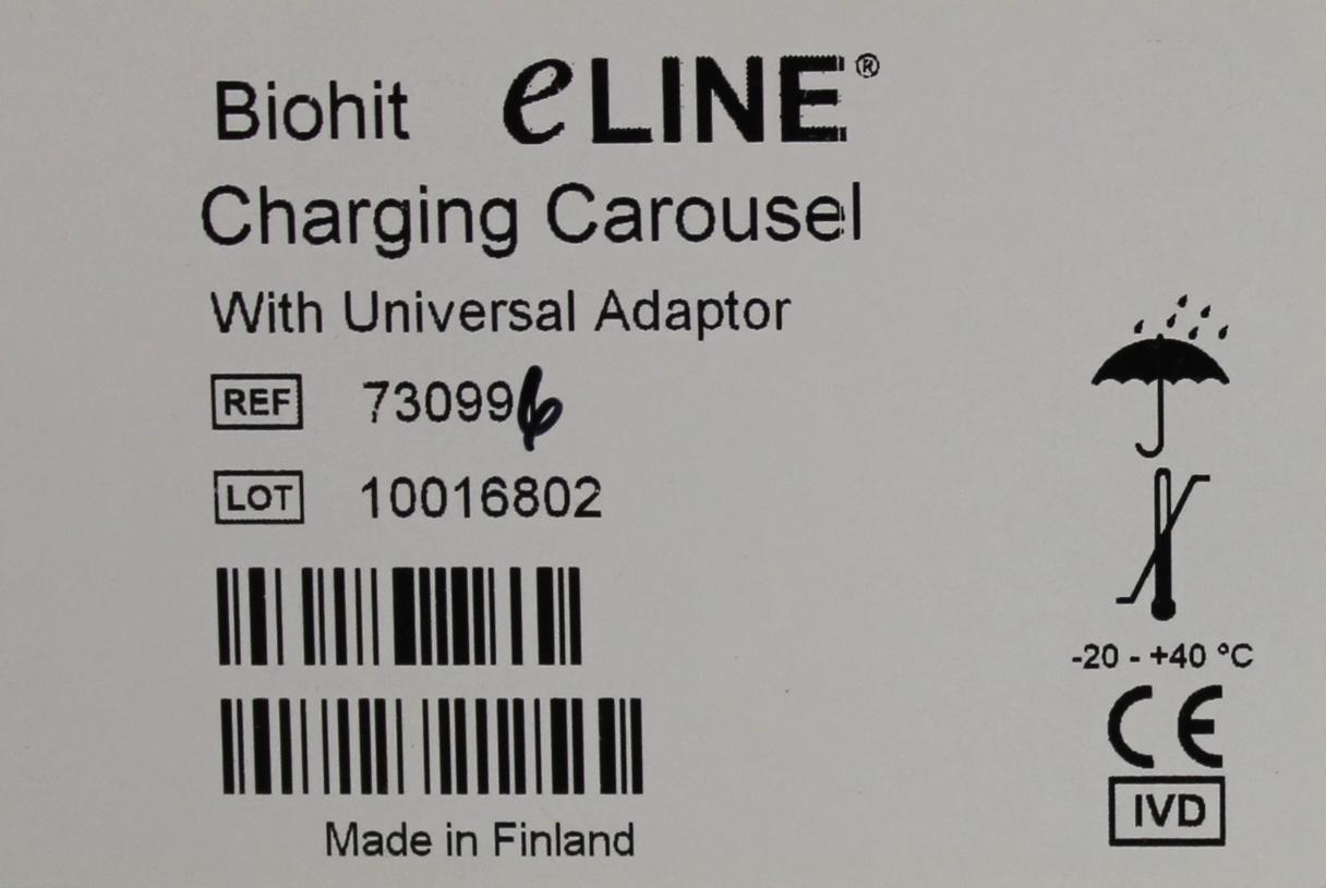 Refurbished BioHit eLINE Charging Carousel