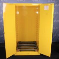 Refurbished Uline 55 Gallon Flammable Drum Storage Cabinet ...