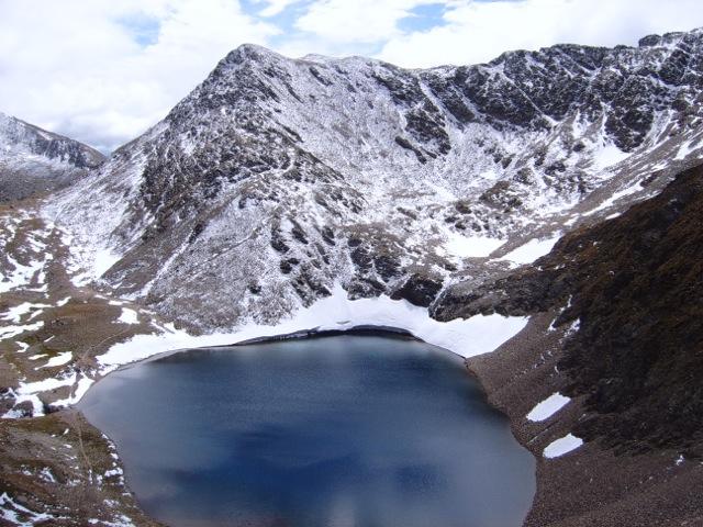 See unterhalb der Ochsenlenke zwischen Defereggen- und Villgratental