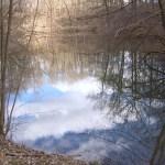 versteckter See am Rand von Ismaning